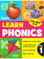 Learn Phonics For Ages 4-6 Book 1
