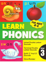 Learn Phonics For Ages 4-6 Book 3