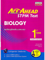Ace Ahead STPM Text Biology 1st Term Fourth Edition