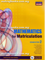 Mathematics for Matriculation Semester 2 Fifth Edition-Edition Updated