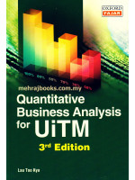 Quantitative Business Analysis for UiTM 3rd Edition