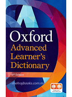 Oxford Advanced Learner's Dictionary 10th Edition Includes 1 Year's App And Online Access