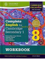 Complete English for Cambridge Secondary 1 Stage 8 Workbook