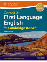 Complete First Language English for Cambridge IGCSE Second Edition