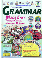 Grammar Made Easy Trough Comics ,Diagram & Games