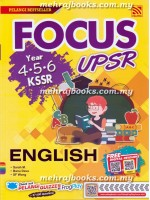 Focus UPSR KSSR English Year 4-5-6