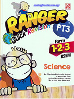 Ranger Quick Revision PT3 Science Form 1-2-3