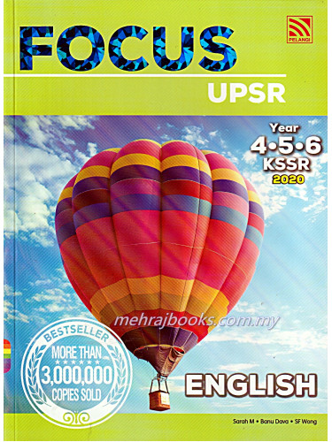 Focus UPSR English Year 4-5-6