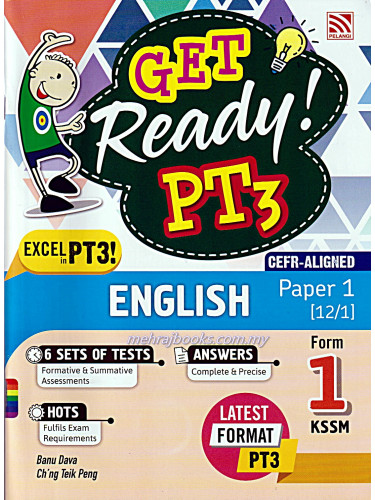 Get Ready! PT3 English Paper 1 Form 1