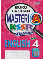 Buku Latihan Masteri A KSSR Semakan English Year 4