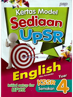 Kertas Model Sediaan UPSR English Year 4