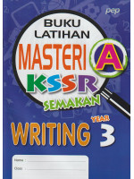 Buku Latihan Masteri A KSSR Semakan Writing Year 3