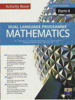 Dual Language Programme Mathematics Activity Book Form 4-Bilingual