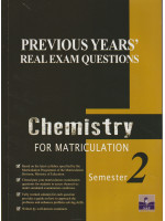 Previous Years' Real Exam Questions Chemistry For Matriculation Semester 2