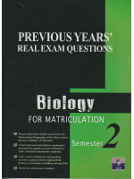Previous Years' Real Exam Questions Biology For Matriculation Semester 2