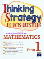 Thinking Strategy in Hots Questions Mathematics Form 1