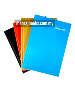 CA3951 Diary 2022 P6 60gsm 352pgs (Assorted Colour) -  A5 Size (1 Diary)