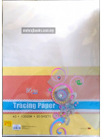 CR36371 Tracing Paper A3-20 Sheets-100gsm