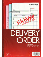 NCR-B 828 Delivery Order   (178 X 255mm) 25 x 3 Sheets