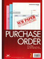 NCR-B 829 Purchase Order  (178 X 255mm) 25 x 3 Sheets