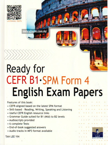 Ready for CEFR B1 SPM Form 4 English Exam Papers