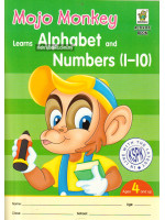 Activity Book Mojo Monkey Learns Alphabet and Number (1-10)