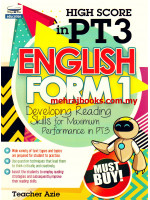 High Score in PT3 English Form 1