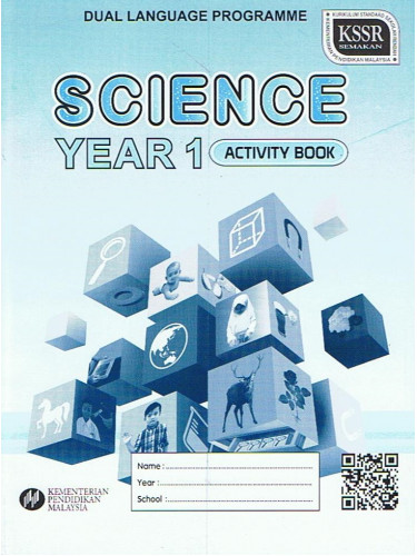 Activity Book Science Year 1 - DLP