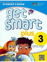 Buku Teks English Get Smart Student's Book Year 3 with CD