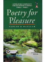 Buku Teks Poetry For Pleasure Tingkatan 1-3