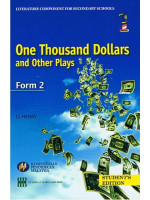 Buku Teks One Thousand Dollars And Other Plays Tingkatan 2