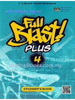 Buku Teks English Full Blast Plus 4 Student's book Form 4