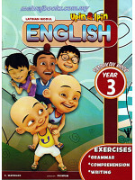 Upin & Ipin Latihan Modul English Year 3
