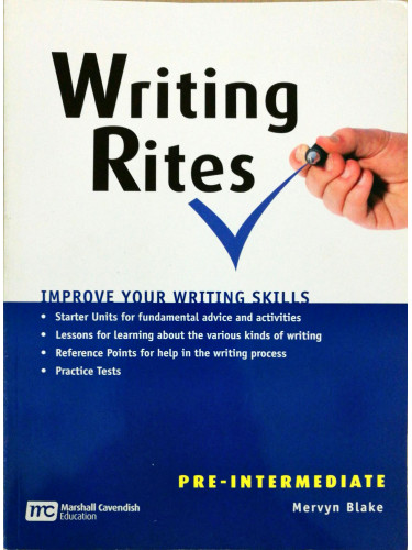 Writing Rites Pre - Intermediate