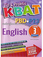 Tip & Praktis KBAT PBD-PT3 English Form 3