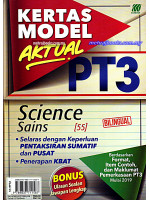 Kertas Model Aktual PT3 Science - Bilingual