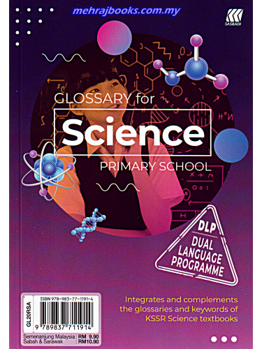 Glossary For Science Primary School-DLP