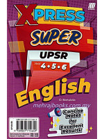 Xpress Super UPSR Year 4-5-6 English