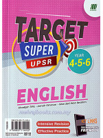 Target Super UPSR Year 4-5-6 English