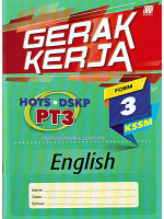 Gerak Kerja KSSM English Form 3
