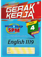 Gerak Kerja KSSM English 1119 Form 4