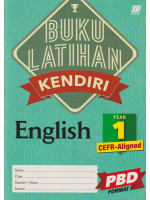 Buku Latihan Kendiri English Year 1