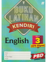 Buku Latihan Kendiri English Year 3