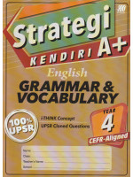 Strategi Kendiri A+ English Grammar & Vocabulary Year 4