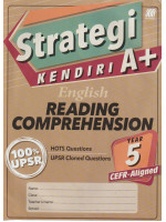 Strategi Kendiri A+ English Reading Comprehension Year 5 CEFR-Aligned